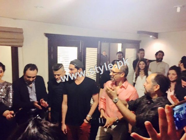 Birthday Celebration of two stars Humayun Saeed and Yasir Nawaz (4)