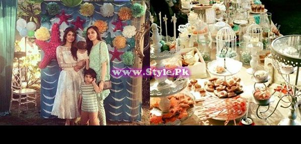 See Birthday celebrations of Syra and Shehroz's baby