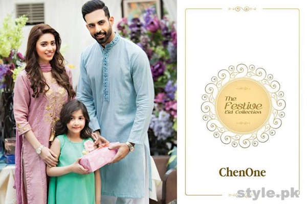 Chen One Eid Dresses 2015 For Men, Women and Kids 7