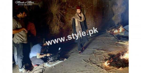 Fahad Mustafa as Meer Taqi Meer in Mah e meer (7)