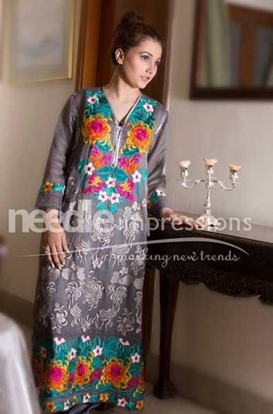 Needle Impressions Ready To Wear Eid Collection 2015 For Women006
