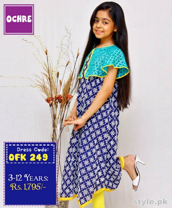 Ochre Clothing Eid Dresses 2015 For Kids 10