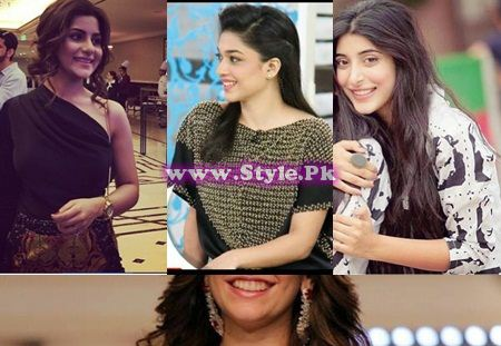 See Pakistani Celebrities of 2015 whose best makeup is their smile