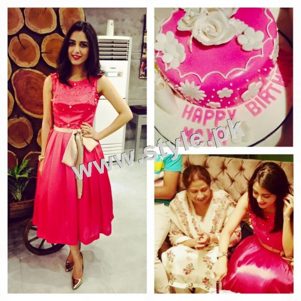 Pictures of Birthday Celebration of Maya Ali fd