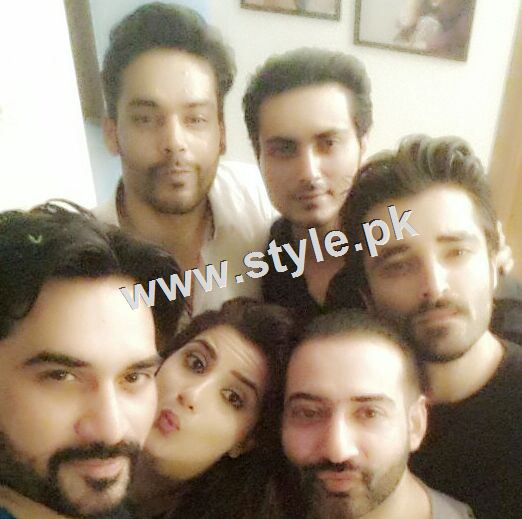 Pictures of Humayun Saeed's success party