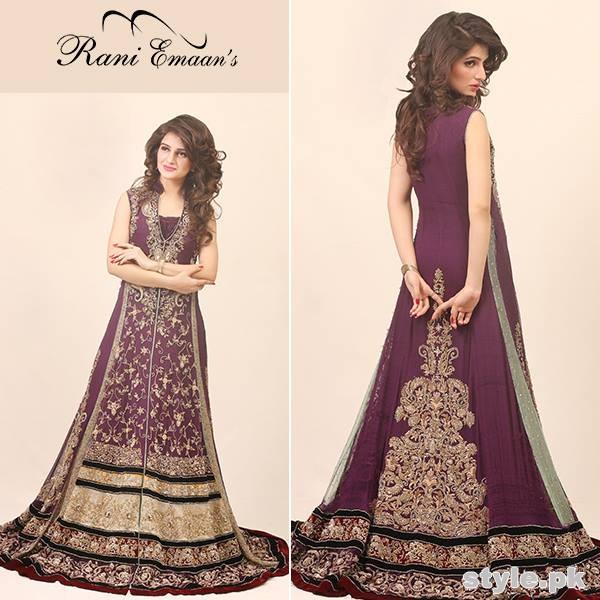 Rani Emaan Bridal Wear Dresses 2015 For Women 5
