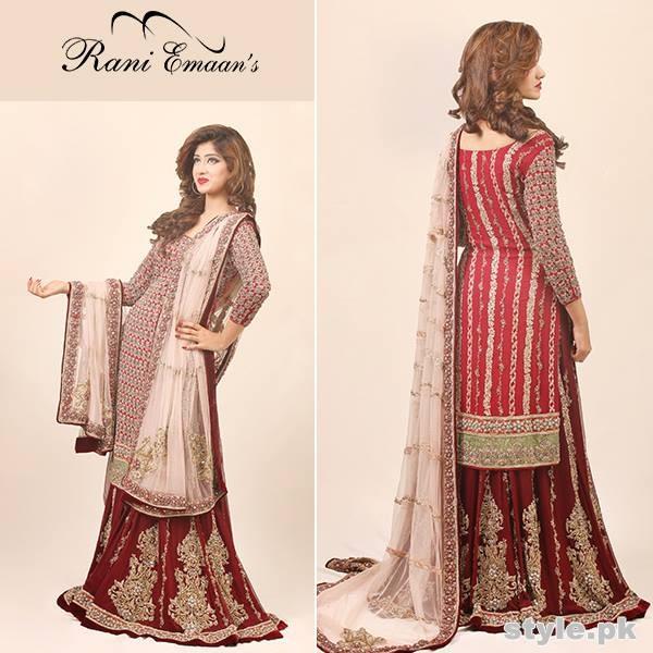 Rani Emaan Bridal Wear Dresses 2015 For Women 7