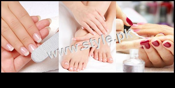 See Rates of Manicure and pedicure in famous Salons of Pakistan