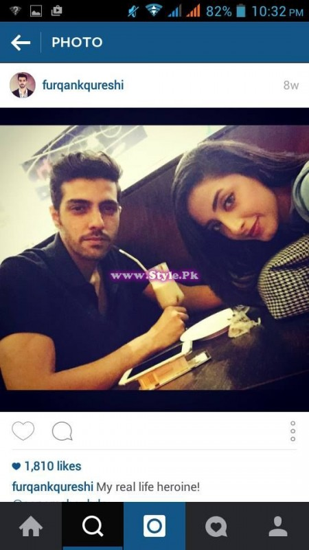 Sanam Chaudhry and Furqan Qureshi are mad in each other's love 4