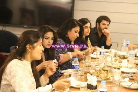 See Shaista Lodhi on Welcome back party with Mubasher Lucman