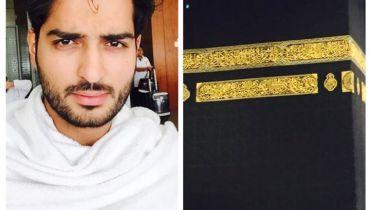 See Top model Omer Shahzad performed Umrah