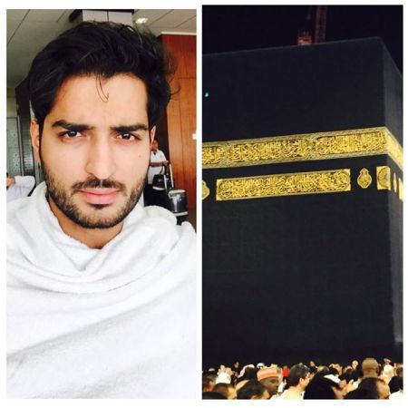 See Top model Omer Shahzad performed Umrah