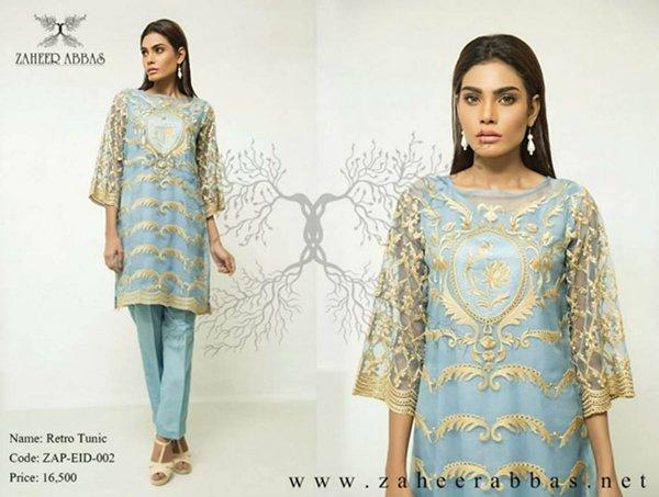 Zaheer Abbas Eid Collection 2015 For Women0912