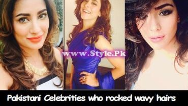 See Pakistani Celebrities who rocked wavy hairs
