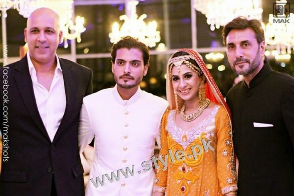 Asad Siddiqui's Wedding pictures (9)