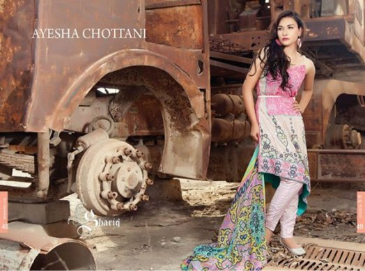 Ayesha Chottani Midsummer Collection 2015 By Shariq Textiles
