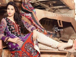 Ayesha Chottani Midsummer Collection 2015 By Shariq Textiles006
