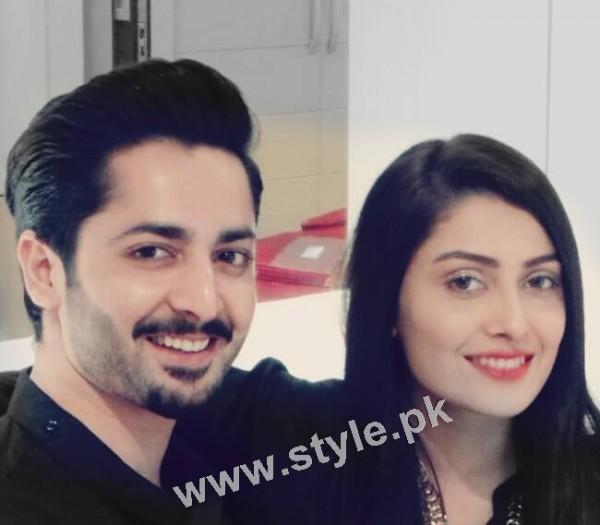 Ayeza Khan and Danish Taimoor's 1st Wedding Anniversary (10)