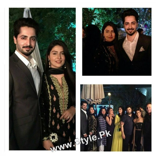 Ayeza Khan's  first public appearance after her baby's birth (5)