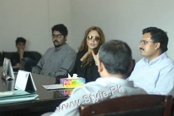 Ayyan Ali visited University of Karachi as guest of Honour (16)