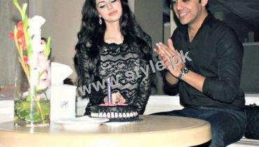 Birthday Celebration of Gohar Mumtaz's wife and Model Anum Ahmed