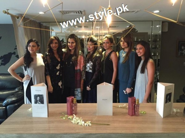 Celebrities at the launch of Meher's Salon