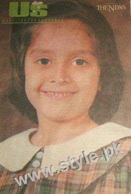 Childhood pictures of Ayeza Khan 2