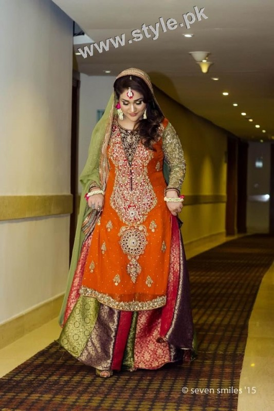 Mehndi outfits 2015 to wear on your big day