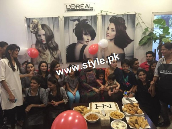 See Nadia Hussain Celebrated first anniversary of Nadia Hussain Salon