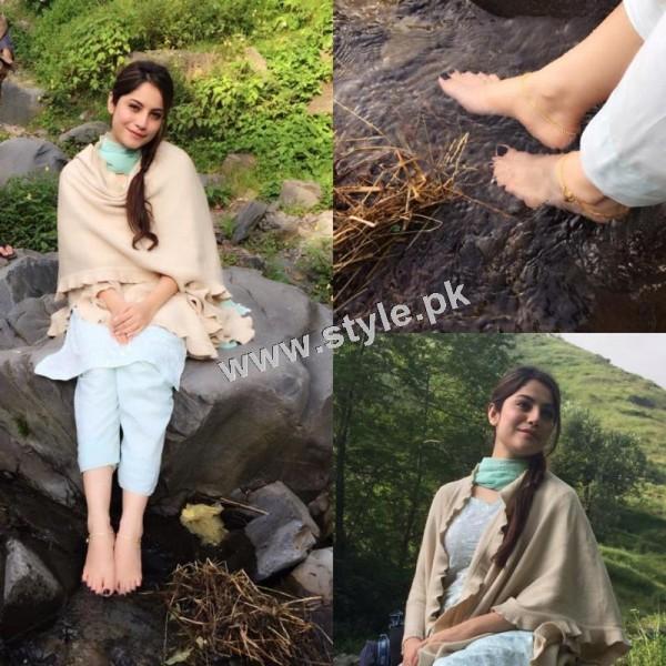 Neelum Muneer is enjoying shooting of Ramla in Murree (6)