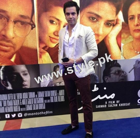 Pakistani Celebrities on the red carpet of MANTO 8