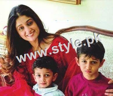 Pakistani Celebrities with their kids