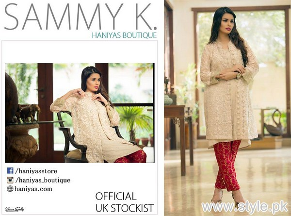 Sammy.K Party Wear Dresses 2015 For Girls 4