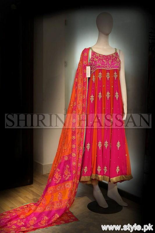 Shirin Hassan Formal Dresses 2015 For Girls 2