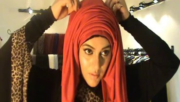 See Trendy Hijab Tutorial by Urooj Nasir