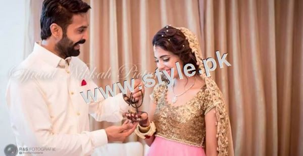 Wedding Pictures of Famous Pakistani Celebrities 3