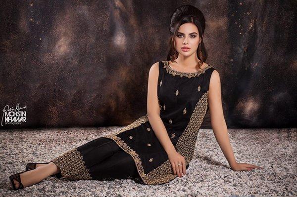 Ayesha And Usman Qamar Formal Wear Collection 2015 For Women009
