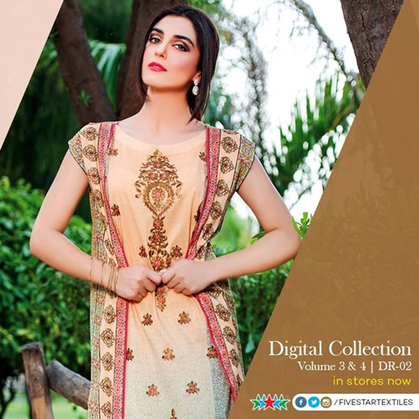 Five Star Textiles Eid Ul Azha Collection 2015 For Women008