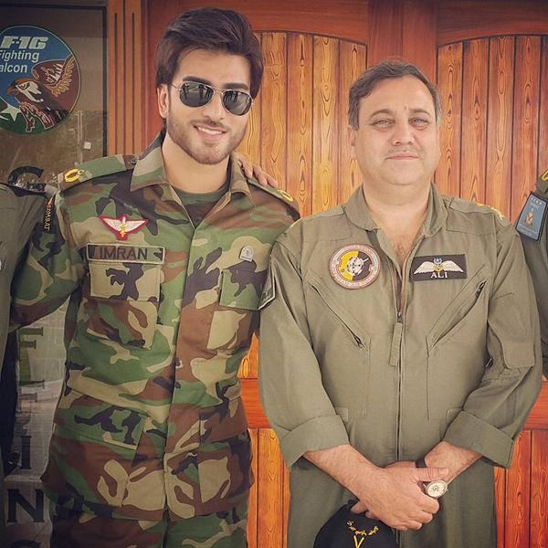 Imran Abbasi is going to pay tribute to Pakistan Air Force (5)