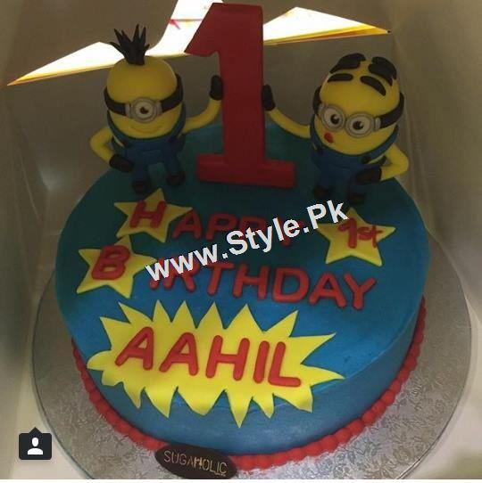 Mathira Celebrating her son's first Birthday (7)