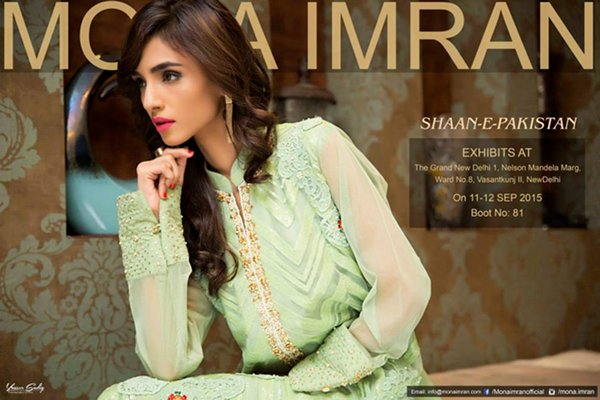 Mona Imran Party Wear Collection 2015 For Women001