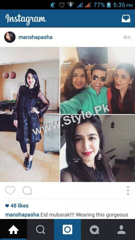 Pakistani Celebrities on Eid ul Adha 2015 (7)