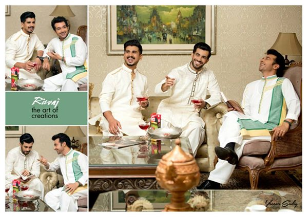 Rivaj Eid Ul Azha Collection 2015 For Men0011