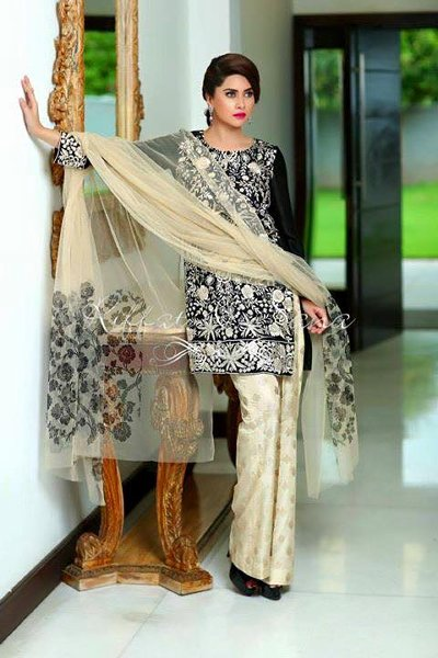 Sana Salman Eid Ul Azha Collection 2015 For Women002