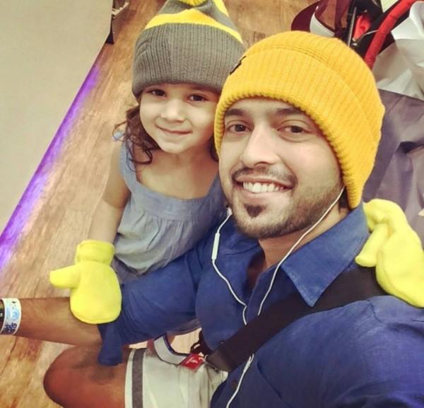 Fahad Mustafa cute daughter pictures