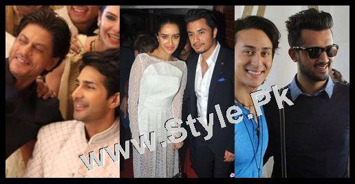 Pakistani Superstars with Bollywood Superstars 1