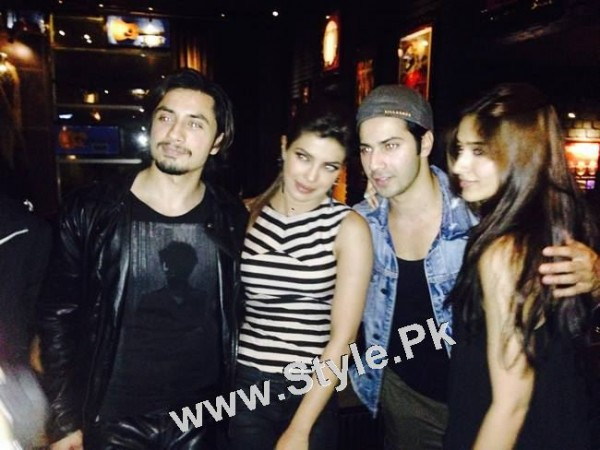 Pakistani Superstars with Bollywood Superstars (3)