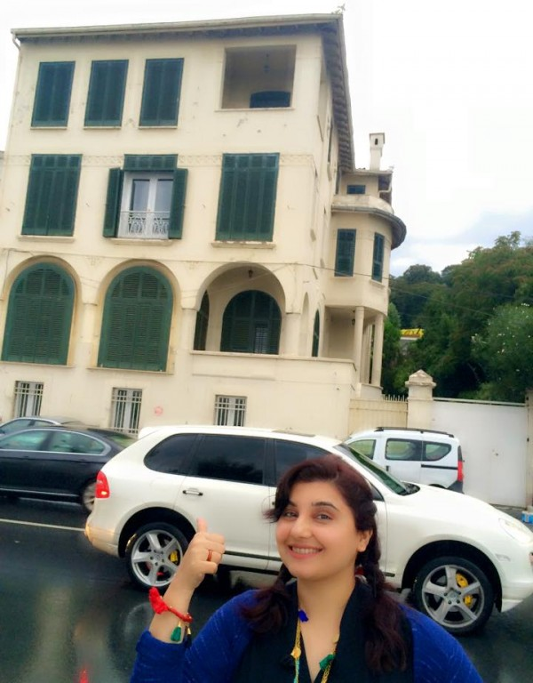 Pictures of Javeria Saud on Istanbul Tour (14)