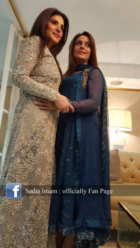 Sadia Imam is a new host of Samaa K  Mehman (3)