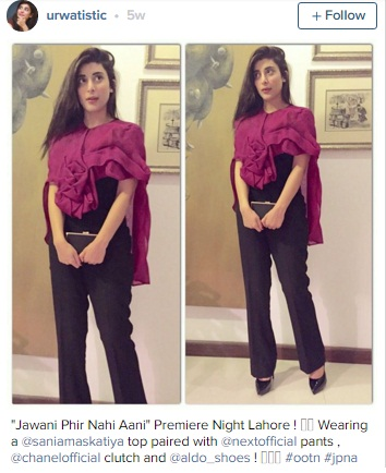 urwa hocane hot fashion